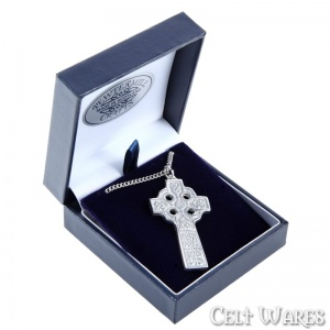 Double Sided Celtic Cross Pendant