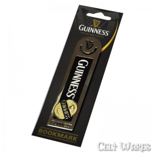Guinness Label Bookmark