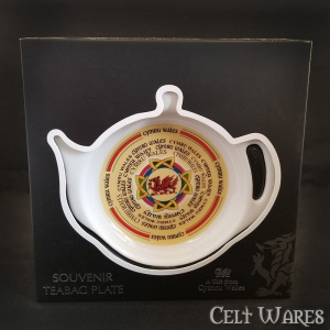 Large Welsh Dragon Teabag Holder