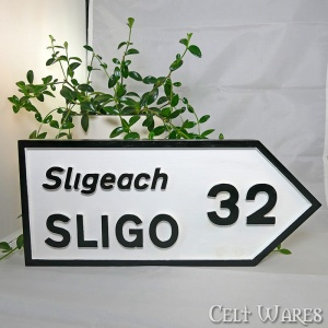 Sligo Road Sign