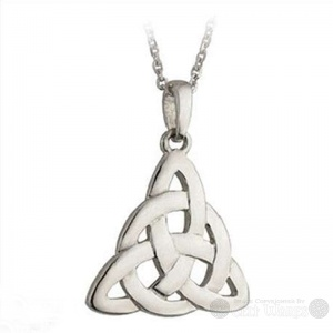 Steel Eternity Trinity Pendant