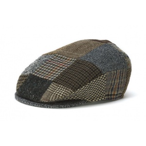 Tweed Patch Cap